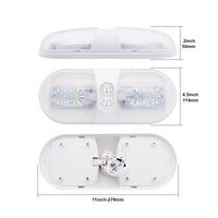 white light car Car LED Interior Dome Light Plastic White Ceiling Reading Lamp for 12V RV Boat Yacht Camper (5)