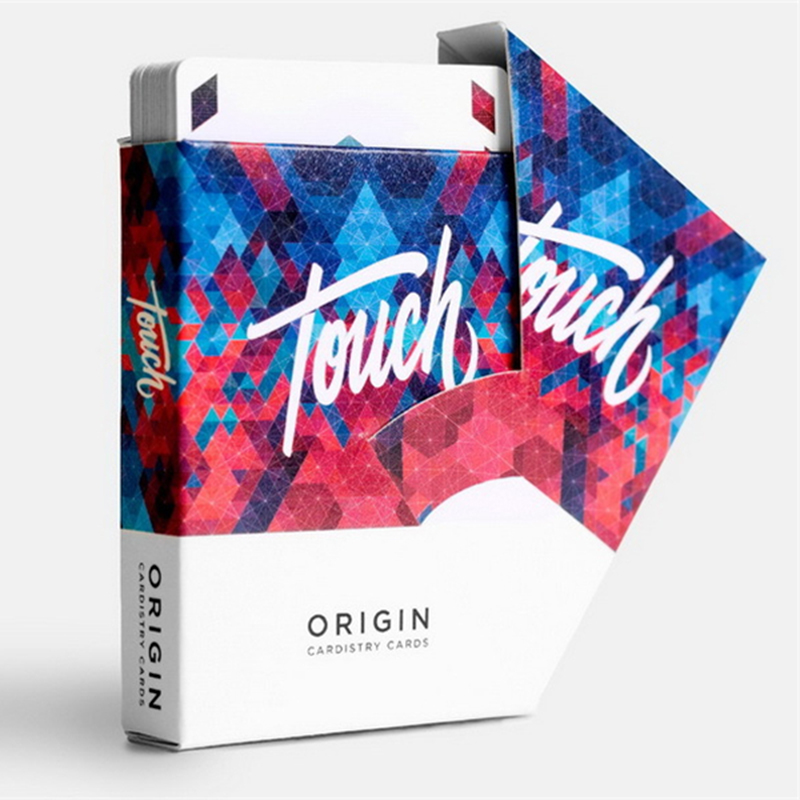Left Magic 1 Deck Origin Cardistry Touch 2017 CARDISTRY Playing Cards Magic Tricks 81442 tally ho playing cards magic deck magic tricks cardistry deck