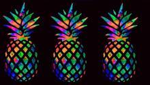 Pineapple Fruit Diamond Painting Cross Embroidery Cartoon 5d DIY Christmas Wall Sticker Decoration