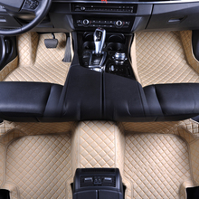 Custom fit car floor mats for Mercedes Benz A180 C200 E260 CLA GLK300 ML S350 class All Models 3D car styling carpet floor liner