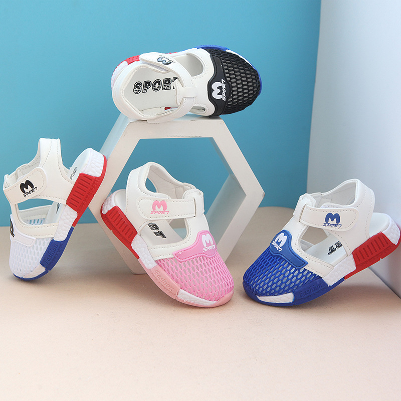 Summer New Children's Mesh Shoes Breathable Sandals For Boys Girls Casual Shoes Sports Todder Small Kids Sandals Size 21-25
