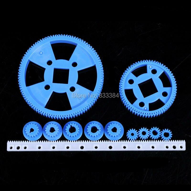 2 комплекта Специальное предложение 69 виды передач один комплект 69 шт. передач мешок пластиковый передач игрушки передач для модель робота ...