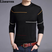 Liseaven Winter Sweater Men Brand Pullover Casual Sweater Male O Neck Slim Fit Knitting Mens Sweaters Man Tops