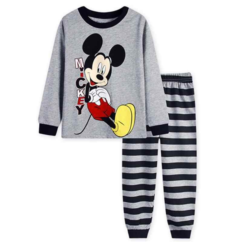 New Autumn Boys Pajamas Long Sleeve Cotton Pajamas Sets Kids Sleepwear Sets Cartoon Printed Children's Pyjamas christmas gift