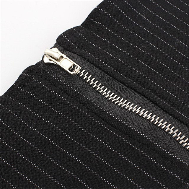 2018 New Harajuku Black Wide Waist Belt Female Corset Waistband Stripe Cummerbunds Belts for Women Dress Vestidos Girdle 3