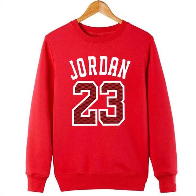 72ce09c619cb 2018 new Jordan Hoodies Men 23 Printed Mens Hooded Sweatshirts Sportswear  Black gray Streetwear Hip Hop Pullover Hoody Tracksuit