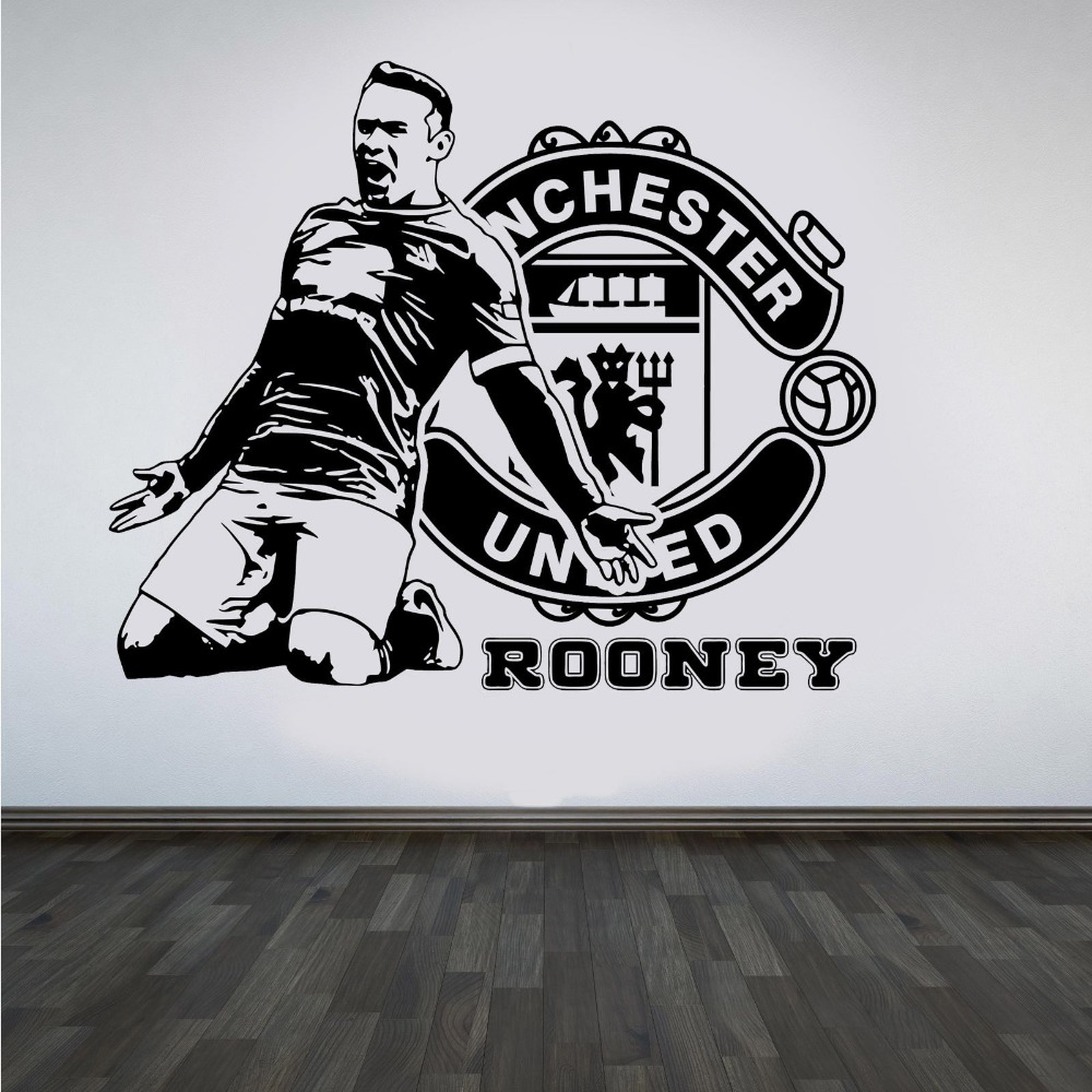 Man Utd Bedroom Wallpaper Online Get Cheap Football Bedroom Wallpaper Aliexpresscom