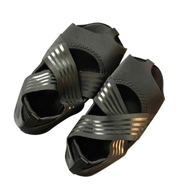 Professional Yoga Shoes Socks Anti-slip Breathable Sweat Absorption Elastic Belt Hosiery Sports Dance Footwear 5