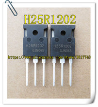 10PCS/LOT H25R1202 25R1202  IGBT 1200V 25A TO-247 Power tube of electromagnetic oven