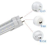 Toika 15 stücke 6ft 1,8 mt G13 FA8 R17d T8 V-form LED Leuchtstoffröhre 60 Watt 1800 MM SMD2835 AC85-265V