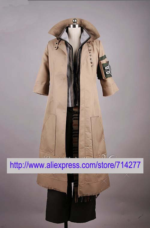 Free shipping Custom Cheap Snow Cosplay Costume from Final Fantasy XIII Anime clothing Christmas