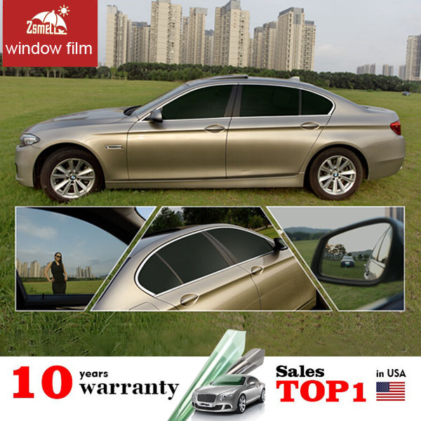 Zsmell Electric Tint Film For Car Window Auto No Fading Windows Transparency Projection