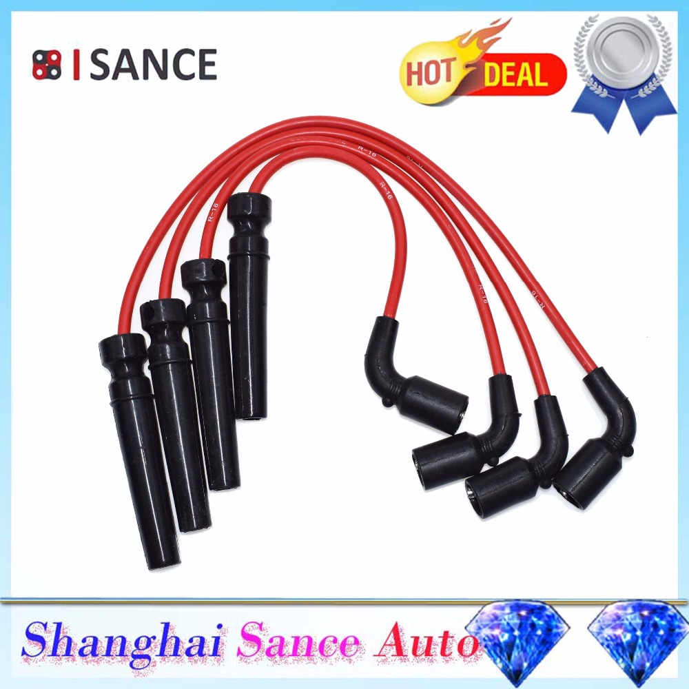 Daewoo Spark Plug Wire Diagram Schematic Electronic Wiring Diagrams Automotive Isance Ignition Cable Kit 56010 For Chevrolet Aveo Rhaliexpress