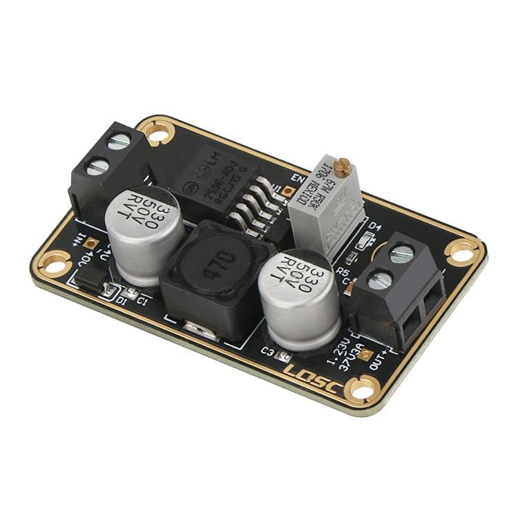 New LM2596 Immersion Gold Buck Converter DC 3V-40V Step Down to DC 1.23V-37V 9V 12V Voltage Regulator 3A Switching Power Mar29 diy lm2596 adjustable step down voltage regulator buck converter modul