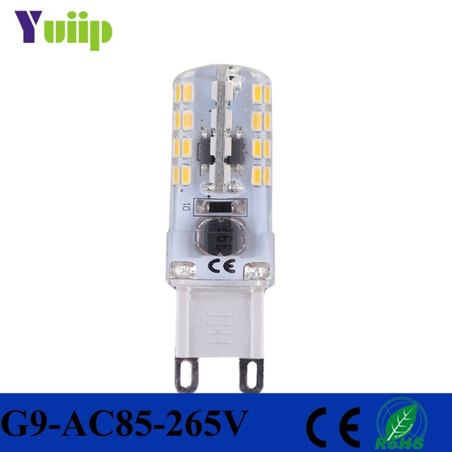Aliexpress buy yuiip led g9 light bulb 3104 smd 3w warm white yuiip led g9 light bulb 3104 smd 3w warm white energy saving replace halogen chandelier g9 mozeypictures Choice Image