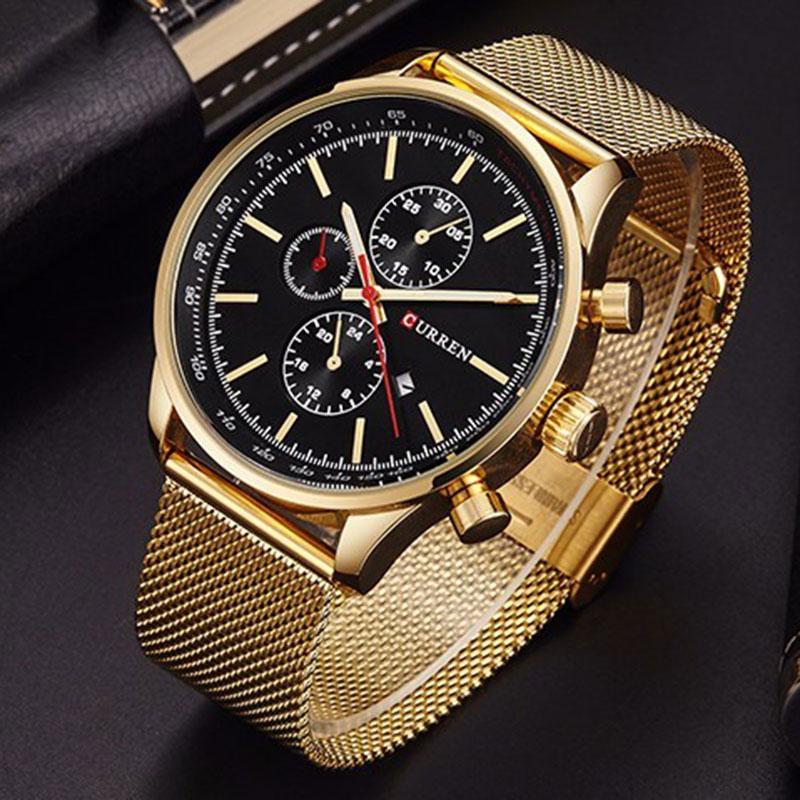 CURREN ძვირადღირებული ბრენდი - მამაკაცის საათები - ფოტო 2