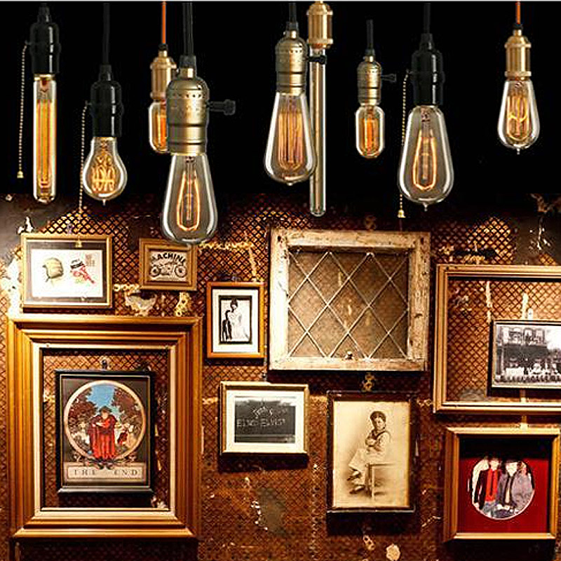 Lâmpadas Incandescentes edison vintage lâmpadas e14 220 Application : Coffee Shop; Restaurant; Bar; Living Room