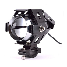 2 PCs Black CREECHIP U5 LED Motorcycle Sport Driving Fog Light Spotlight Top Quality Oct 18