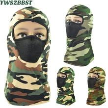 Camouflage Women Men Riding Mask Dustproof Masked Cap Autumn Winter Outdoor Women Knitted Hooded Hat Scarf Men Beanies Cap цена