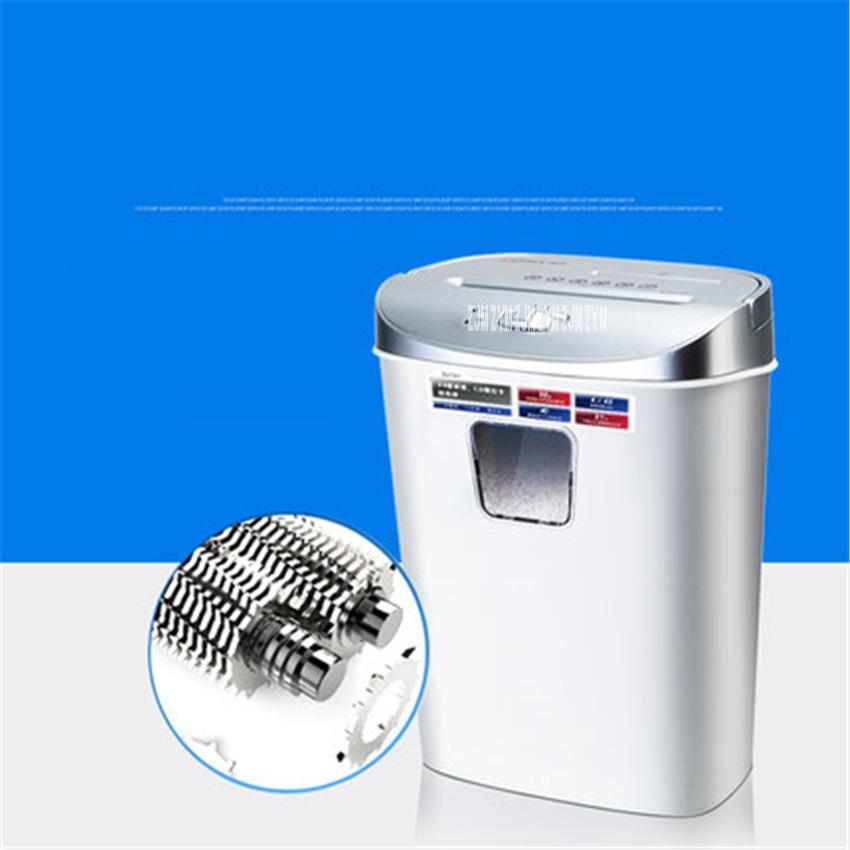 купить S2702 Mini Automatic electric paper shredder household file shredder electric silent card machine crushed 220V Shredder 4*45mm по цене 3920.74 рублей