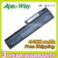 Apexway 4400mAh Battery for HP Business Notebook 6510b NC6120 NC6200 NC6220 397809-001 408545-001 409357-001 443884-001