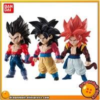 Japan Anime Dragon Ball GT Original BANDAI ADVERGE Collection Figure Super Saiyan 4 Goku Vegeta Gogeta