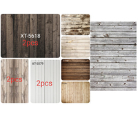 11pc 4x6ft cotton polyester Wood planks Photography Backdrop Wood Floor Custom Photo Prop backgrounds