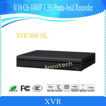 DAHUA NEW Product 16 Channel Penta-brid 1080P 1.5U Digital Video Recorder Without Logo XVR7416L