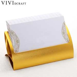 Vividcraft Creative Metal Card Holders Note Holders for Office Display Desk Business