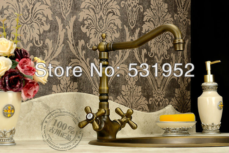 single lever basin mixer tap faucet bronze color two handle ceramic disc lavatory high grade brass copper hotel bathroom classi