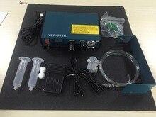 P180 VBP-983A Профессиональный Точная Цифровая Авто Клей Диспенсер Паяльной Пасты Liquid Controller Dropper 220 В