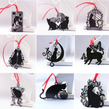 18 шт./лот 9 styleslovely милый кот металлический Закладки Cat Книга Держатель для книги Бумага креативный подарок
