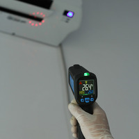 Brand New For BSIDE BTM21C Infrared Thermometer Color Digital Non Contact IR Laser Thermometer K Type