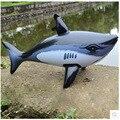 Бесплатная доставка 5 шт. Надувные Животное новая Большая Акула Надувные рыбы Малыш Игрушки Воды Надувной Шар Украшения Партии