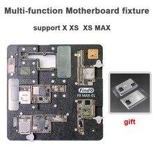 Многофункциональная материнская плата для iPhone X XS MAX Оловянная платформа PCB держатель средний слой с BGA трафарет