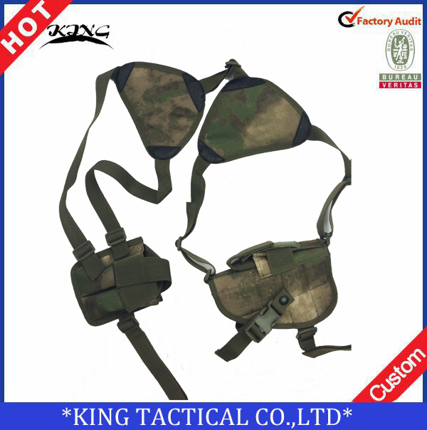 Military Tactical Right Hand Gun Holster Adjustable Shoulder Gun Holster for
