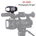 Zifon Zf-2000 boda noticias como la luz de relleno led luz de la cámara SLR cámara luces de tres temperatura de color