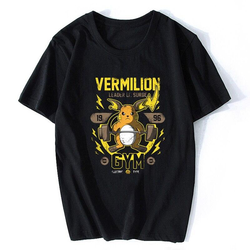 Raichu Cartoon Game Pikachu Evolution Toddler Kids Boy Tee Youth T-Shirt 2T~XL