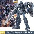 Modelo Daban MG RGM-96X Jesta Mobile suit Gundam UC 1/100 Escala Grau Mestre Figuras de Ação Anime Robô crianças montados brinquedos