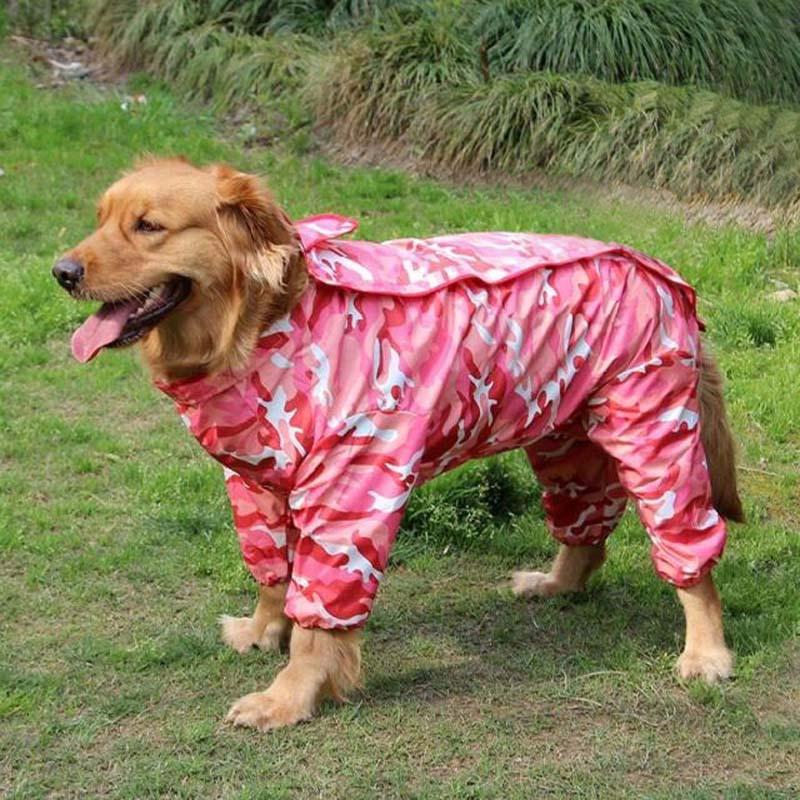 Con Pet Camouflage Impermeabile Cappuccio Cane Felpa PAaqIq