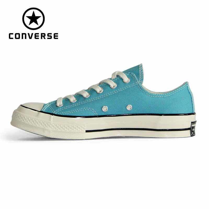 c61202982a6 Converse 1970S Original Retro version all star shoes blue red color unisex  sneakers Skateboarding Shoes 160444C
