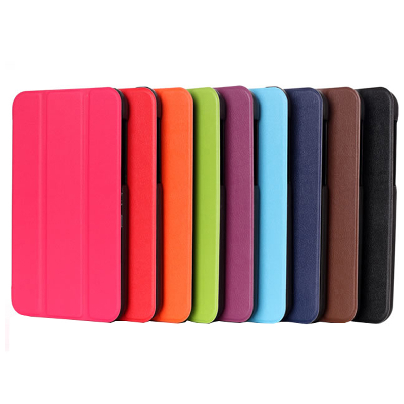 Tri Fold Ultra Slim Leather Case Cover for Samsung Galaxy Tab E 9 6 Tablet T560