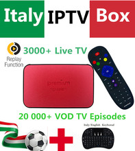 GOTiT Italy IPTV AVOV TVOnline Streaming Box 3000+LIVETV 20K+ VOD EX-YU Spain Portugal Adult Hotclub TV Channel KO Mag254 TV Box(China)