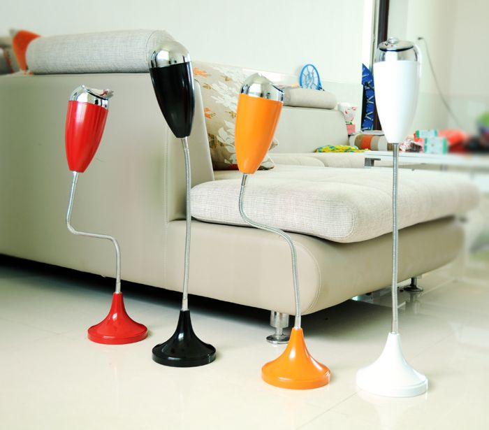 Super Large Bending Tube of European Living Room Ashtray Creative Fashion Personality Bar KTV Telescopic Vertical