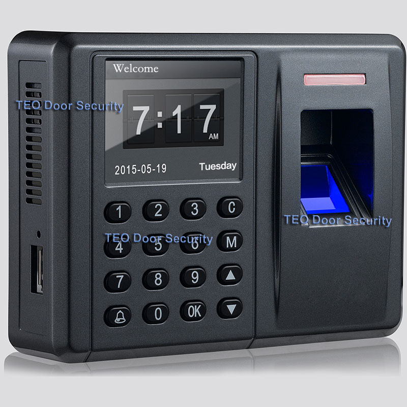 Biometrisk FP Time Attendingance och Acess Control Fingerprint Reader Access Control