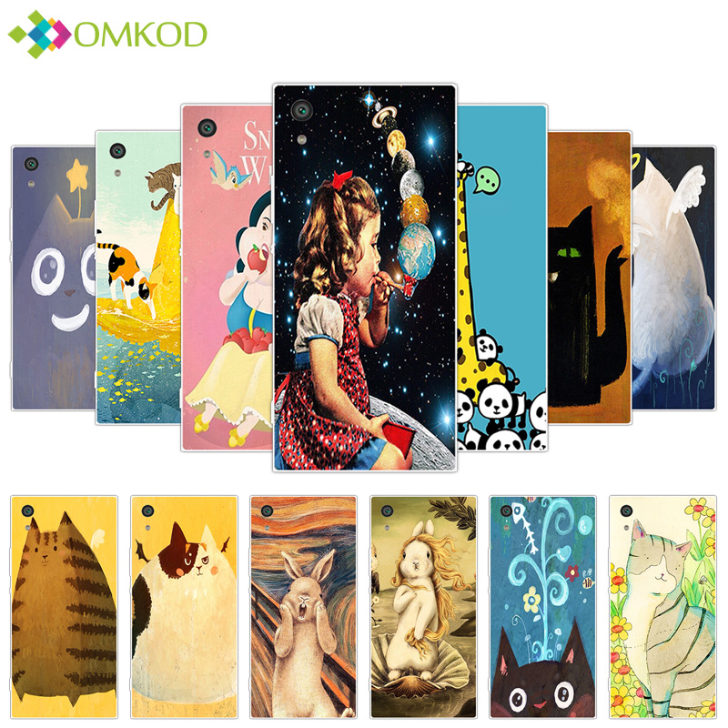 Silicone Fat Animals Cover for Sony Xperia XA1 Z6 G3121 Phone Coque for Sony Xperia XA1 Case for Sony Xperia XA1 Z6 Z 6 Fundas