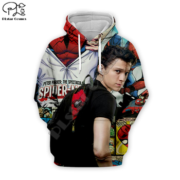 Men women Avengers 3D Spiderman collection Print Hoodies Superhero Sweatshirts Tom Holland new fashion pullover casual tracksuit