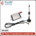 1 шт 500 МВт 433 МГц беспроводной приемопередатчик модуль SV651 + 1 шт присоски антенна (длина кабеля 1 Метр) для бесплатной доставкой