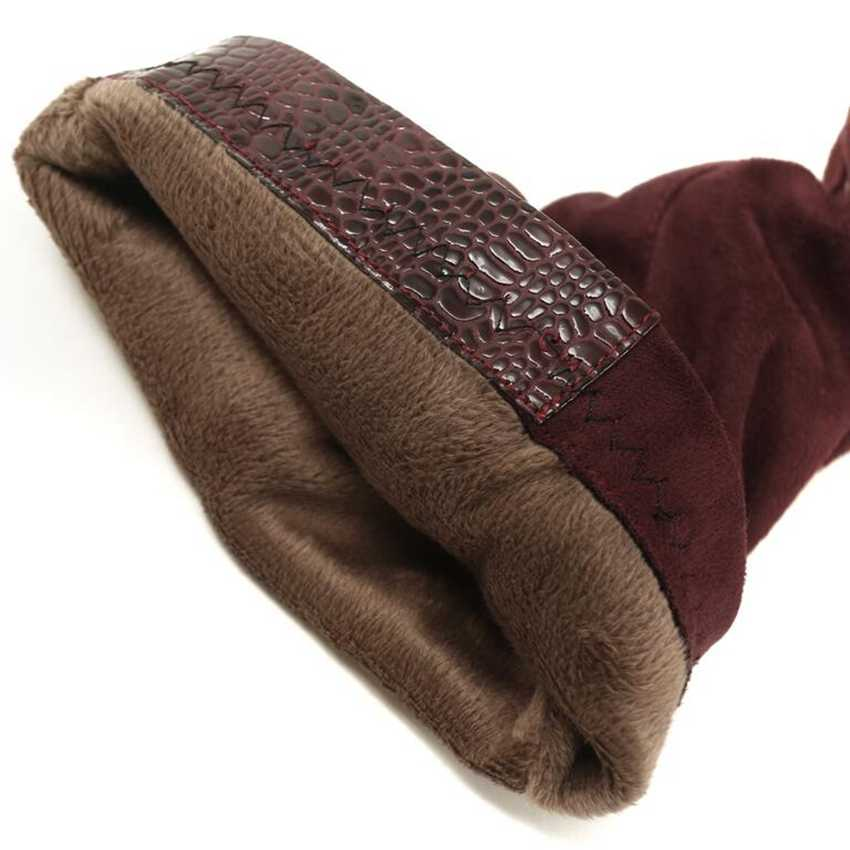 Plus duży rozmiar 32-46 czarny wino-czerwony nad kolanem Sexy zakolanówki obcas jesień zima ciepłe kobiece Lady kobiety buty X1732