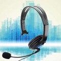 Высокое Качество Проводной Игровой Чат Гарнитура Наушники Микрофон для Sony PS4 PlayStation 4 Черный